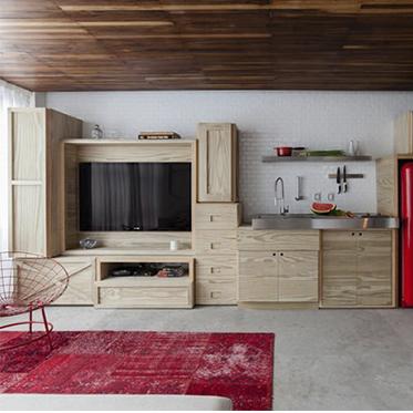 Um apê antigo de 35 m2 pode virar um lar moderno, saiba como