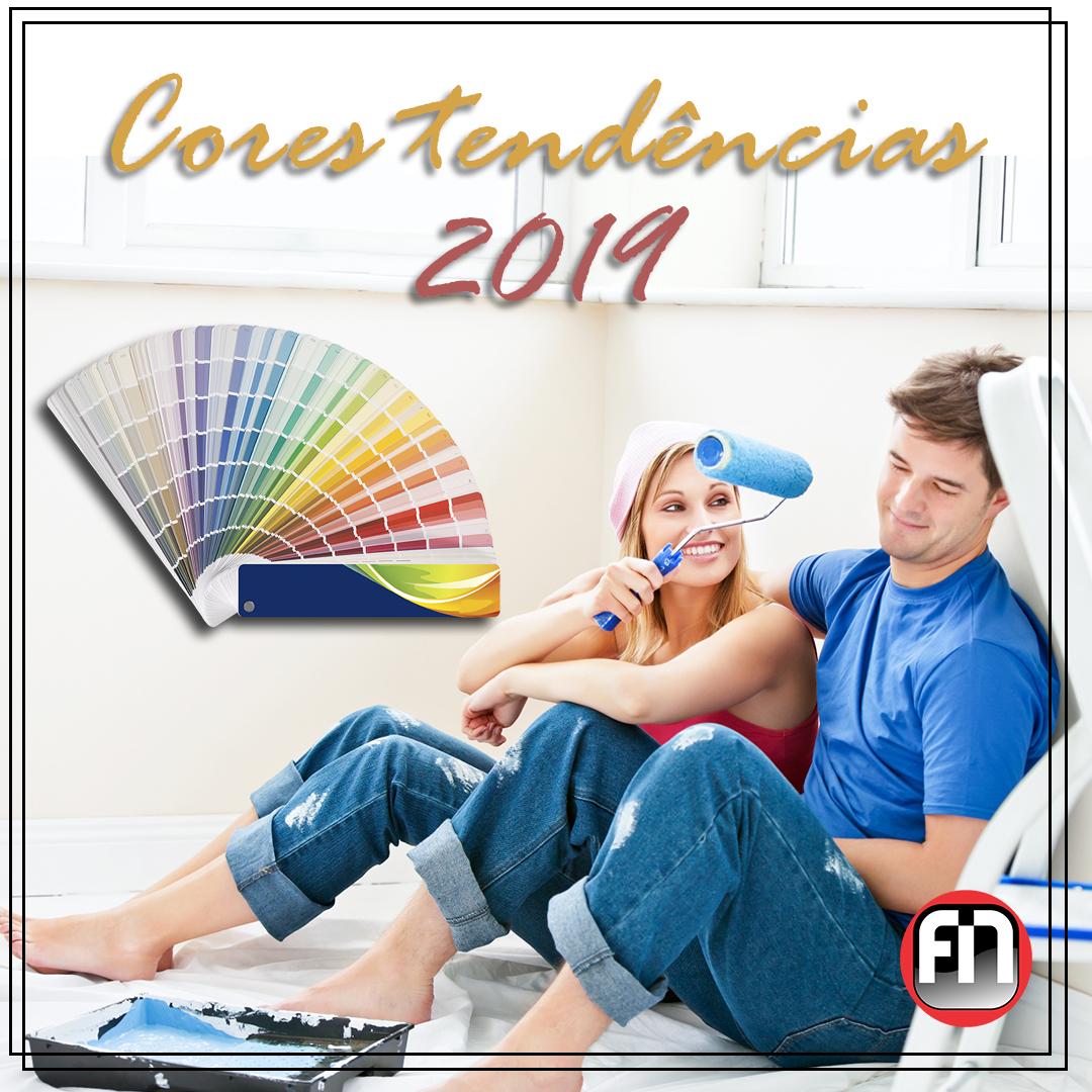 Cores Tendência - 2019