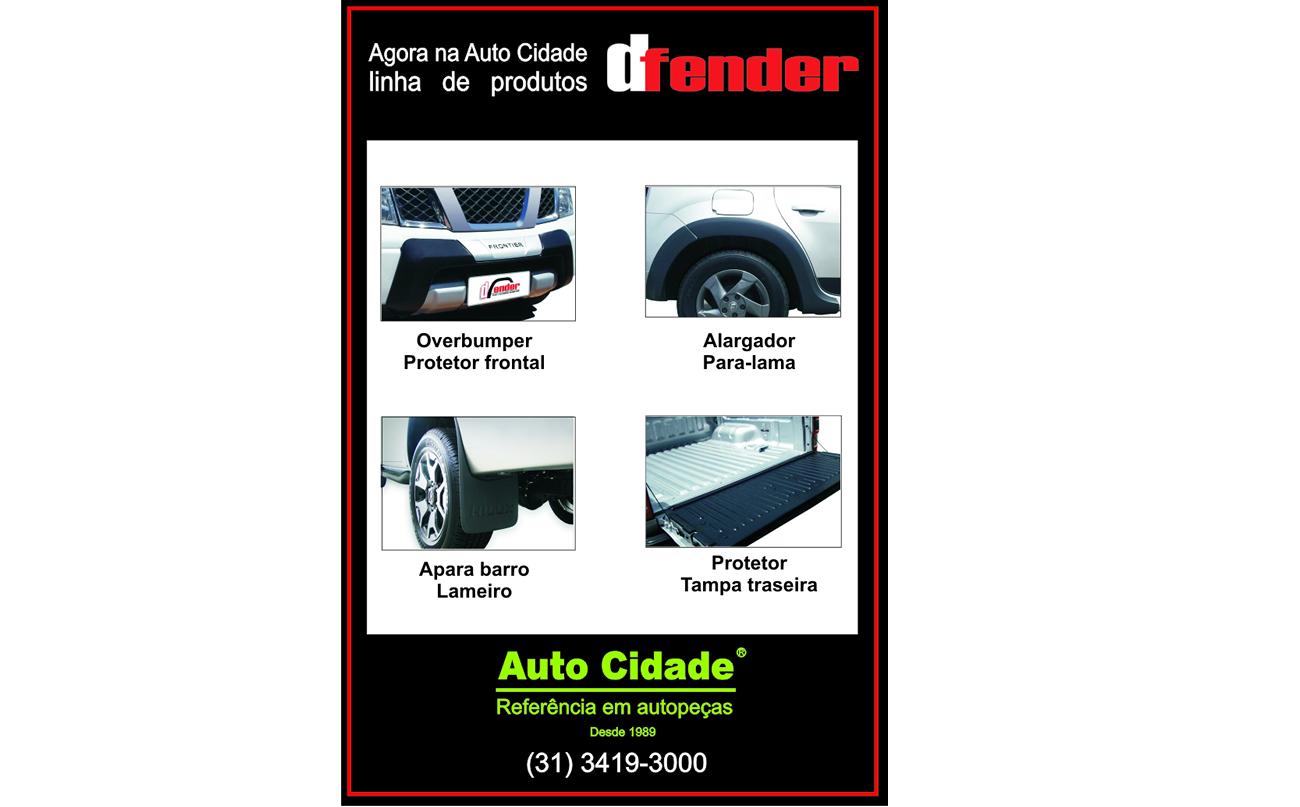 Linha de produtos DFENDER