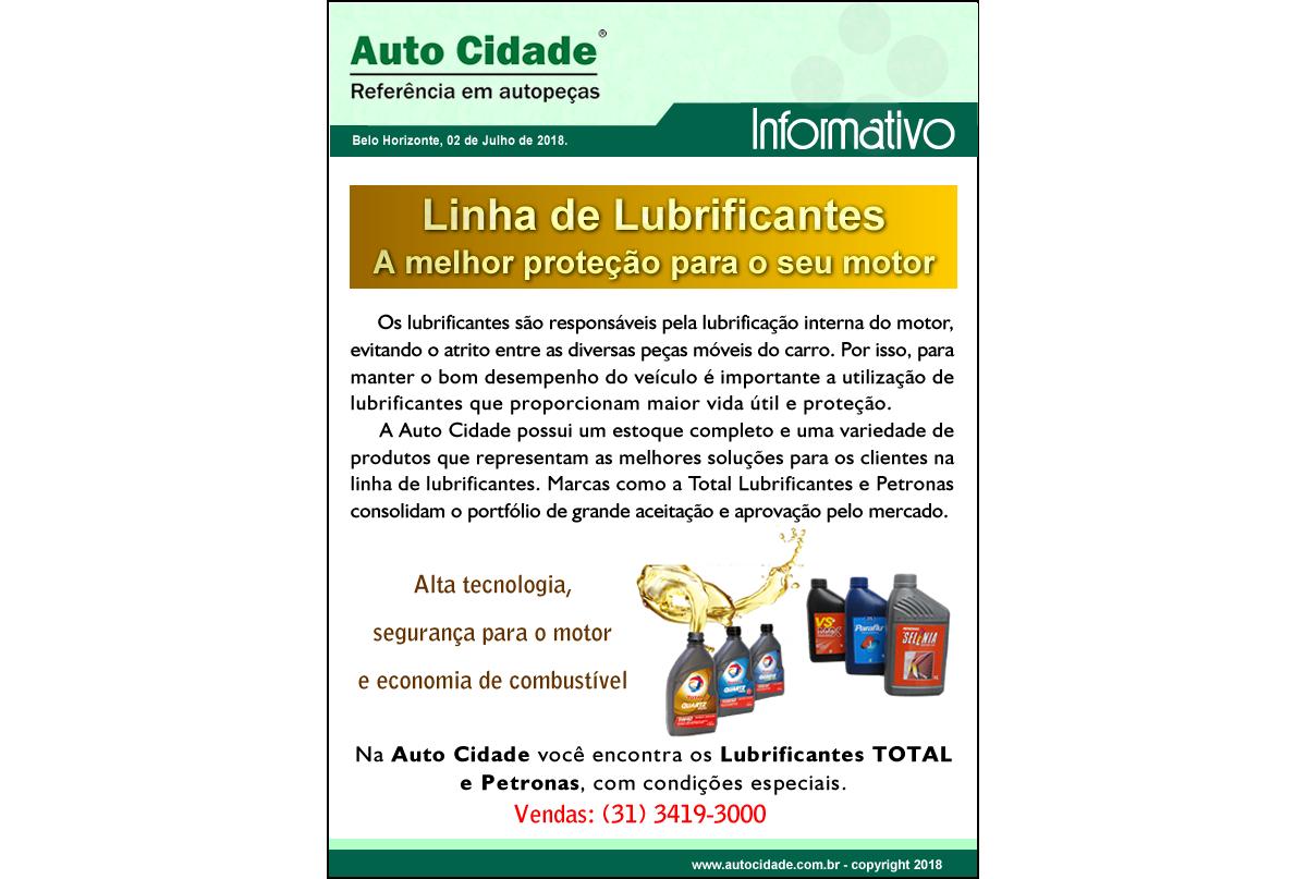 Linha de lubrificantes
